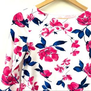 Talbots cotton T-shirt in floral print